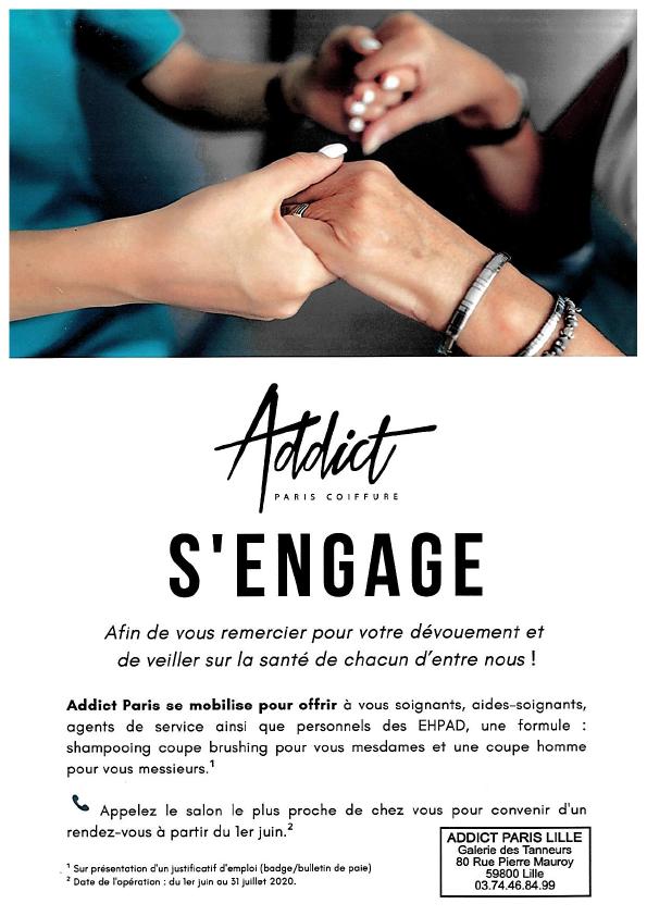 Addict s'engage